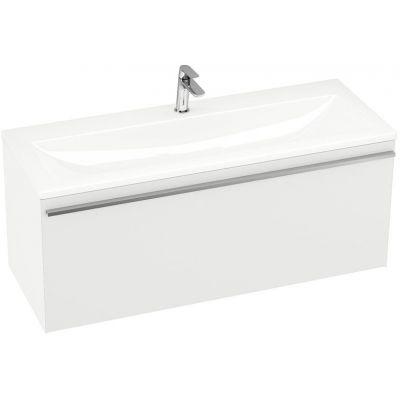Ravak Clear szafka 80 cm podumywalkowa wisząca biały połysk/biały X000000757