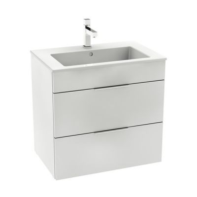 Roca Unik Suit zestaw łazienkowy 65 cm umywalka z szafką biały połysk A851180806