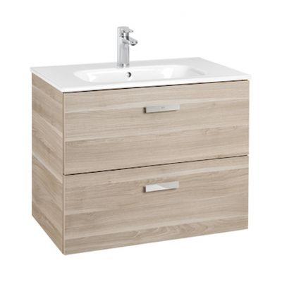 Roca Victoria Basic Unik zestaw łazienkowy 70 cm umywalka z szafką brzoza A855853422
