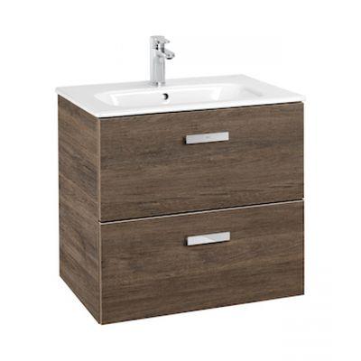 Roca Victoria Basic Unik zestaw łazienkowy umywalka z szafką 60 cm cedr A855854423