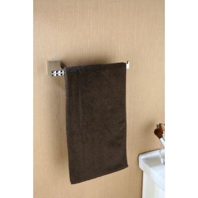 Art Platino Panama wieszak na ręczniki prostokątny chrom PAN-86040