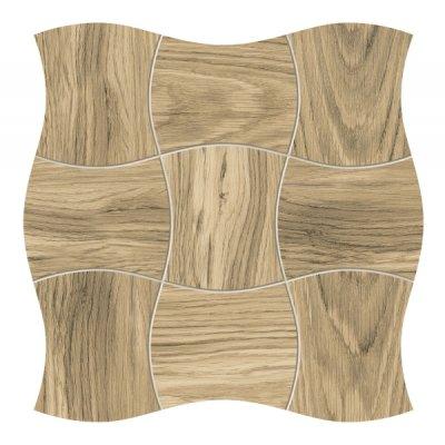 Tubądzin Royal Place mozaika ścienna Wood 29,3x29,3cm