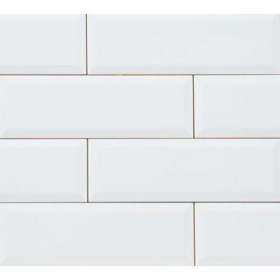 Tubądzin Elementary płytka ścienna White Bar 23,7x7,8cm