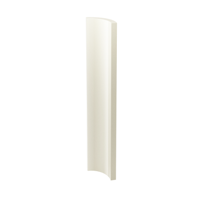 Paradyż Gamma/Gammo kształtka Gamma Bianco A Poler 3X19,8cm K---030X198-1-GAMA.BIA-B
