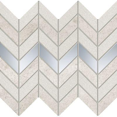 Domino Tempre mozaika ścienna grey połysk 29,8x24,6cm domTemGreMoz298x246