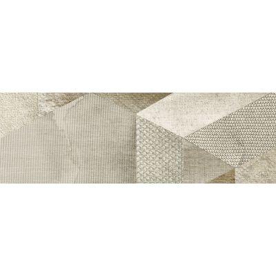 Paradyż Attiya dekoracja ścienna Beige Motyw B 20x60cm Mat