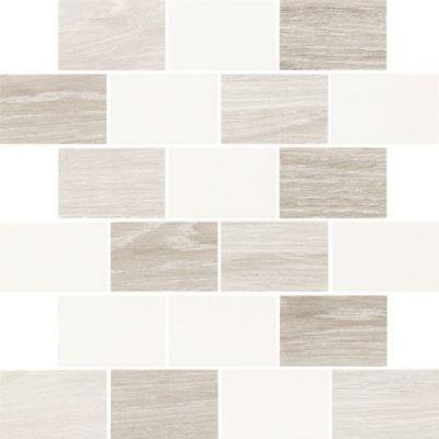 Paradyż Elia mozaika ścienna Bianco cięta mix 29,8x29,8cm Mat