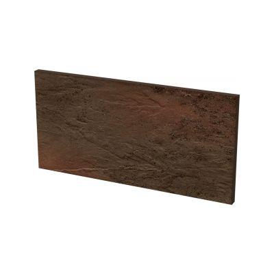 Paradyż Semir płytka podstopnicowa Brown 30x14,8x1,1