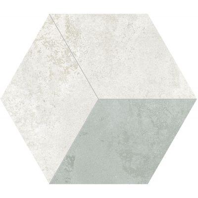 Tubądzin Torano mozaika gresowa hex 2 34,3x29,7cm MP-01-184-0343-0297-1-064