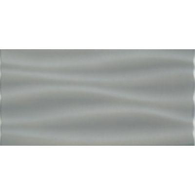 Domino Joy płytka ścienna Wave szara STR 44,8x22,3cm