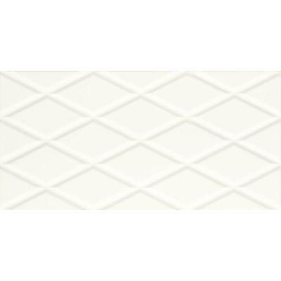 Paradyż Moonlight płytka ścienna Bianco Struktura B Rekt. 29,5X59,5cm