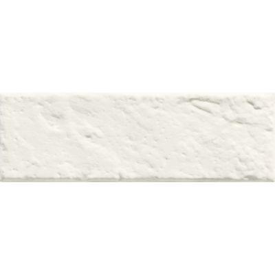 Tubądzin All in white płytka ścienna 6 STR 7,8x23,7