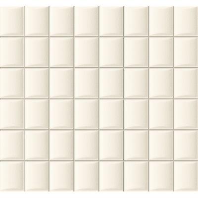 Tubądzin Elementary mozaika ścienna White 32,1x30cm