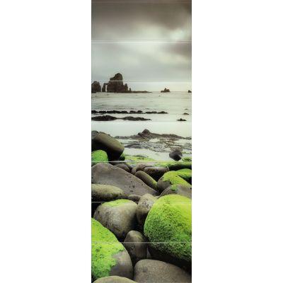 Tubądzin Lemon Stone obraz ścienny szklany 7-elementowy 74,8x209,8cm