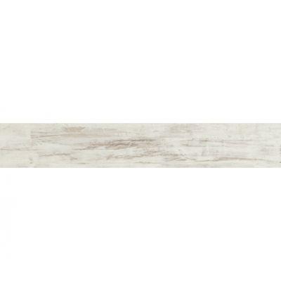 Tubądzin Wood płytka podłogowa Work white STR 119,8x19cm