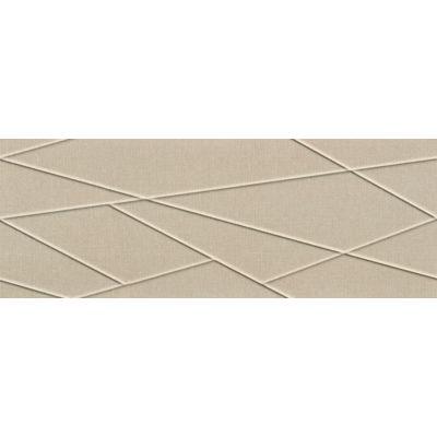 Tubądzin House of Tones płytka ścienna beige A STR 32,8x89,8cm