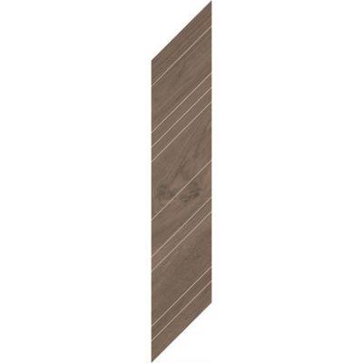 Paradyż Wildland płytka dekoracyjna deskopodobna Dark Chevron Prawy14,8x88,8 cm