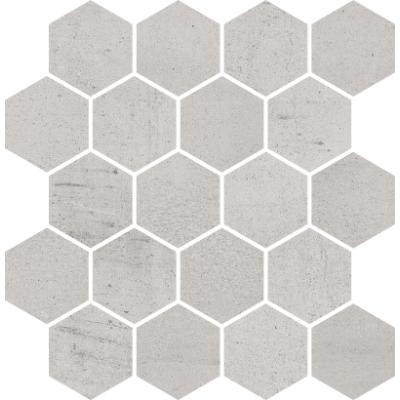 Paradyż Space mozaika Cięta Grys Heksagon Poler 25,8x28 cm