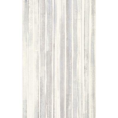 Paradyż Nati dekor ścienny 25x40 cm paski biały/szary