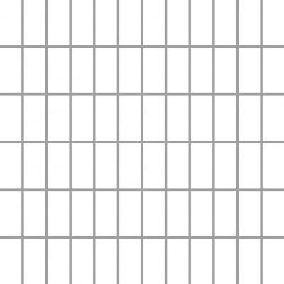 Paradyż Albir mozaika ścienno-podłogowa 29,8x29,8 cm biały mat