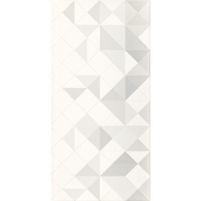 Paradyż Tonnes dekor ścienny 30x60 cm motyw A szary/biały