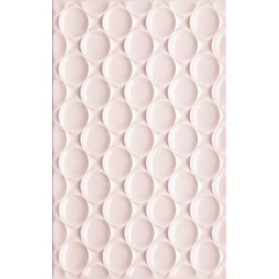 Paradyż Martynika płytka ścienna 25x40 cm struktura różowa