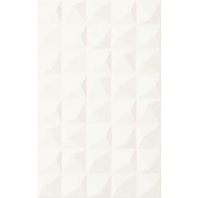 Paradyż Melby płytka ścienna 25x40 cm struktura biała