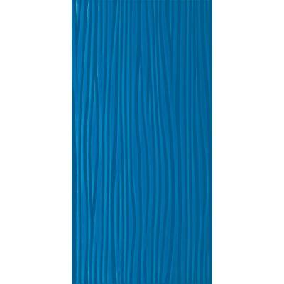 Paradyż Vivida płytka ścienna 30x60 cm STR niebieska