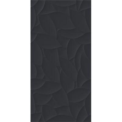 Paradyż Esten płytka ścienna 29,5x59,5 cm motyw A struktura grafit