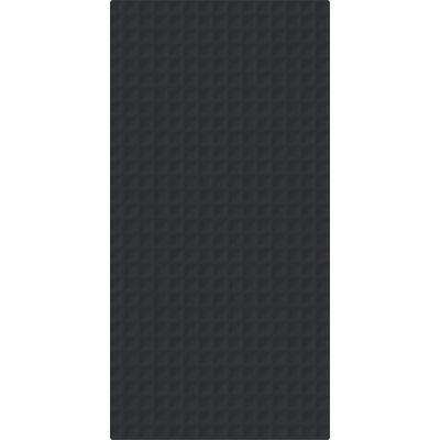Paradyż Esten płytka ścienna 29,5x59,5 cm motyw C struktura grafit