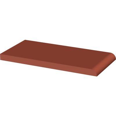 Paradyż Natural płytka parapetowa 10x20 cm czerwona