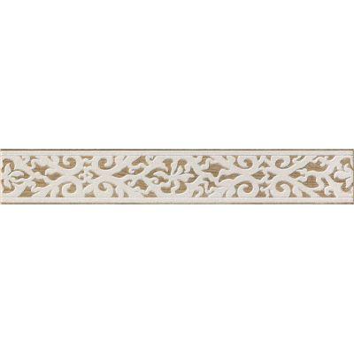 Tubądzin Ilma listwa ścienna 44,8x7,1 cm beżowy połysk
