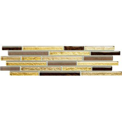Tubądzin Venatello listwa ścienna mozaikowa 37,2x9,8 cm
