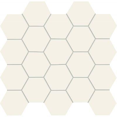 Tubądzin All in white mozaika ścienna 28,2x30,6 cm biała