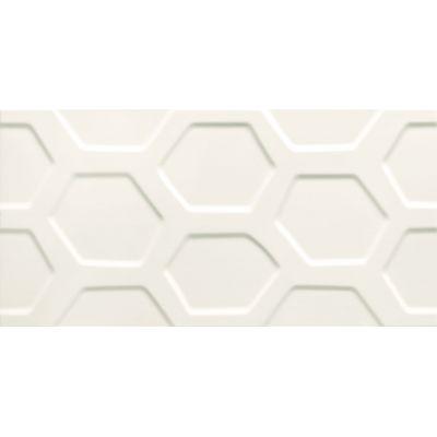 Tubądzin All in white 1 płytka ścienna 29,8x59,8 cm STR biały mat