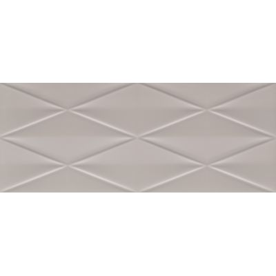Tubądzin Abisso płytka ścienna 29,8x74,8 cm STR szara