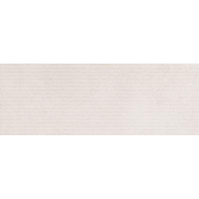 Tubądzin Integrally Line płytka ścienna 89,8x32,8 cm STR biały mat