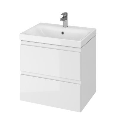 Cersanit Moduo umywalka z szafką 60 cm zestaw meblowy biały S801-223-DSM