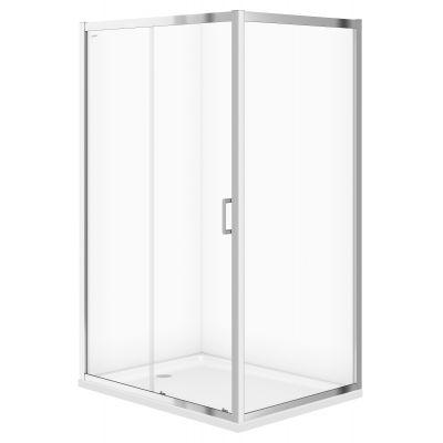 Cersanit Arteco kabina prysznicowa 120x90 cm chrom/szkło przezroczyste S157-012