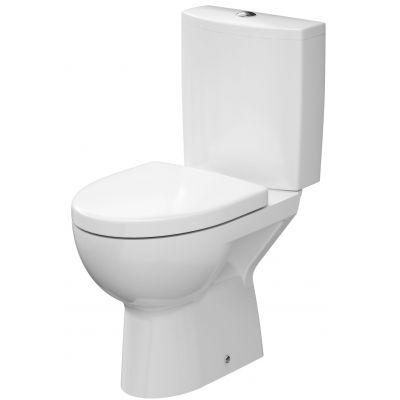 Cersanit Parva zestaw WC kompakt z deską wolnoopadającą biały K27-004