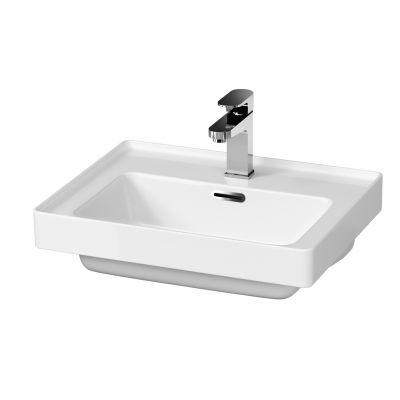 Cersanit Crea umywalka 50x40 cm meblowa prostokątna biała K114-005