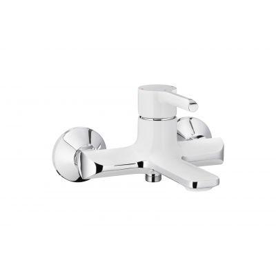 KFA Armatura Angelit bateria wannowo-prysznicowa ścienna biały/chrom 4724-010-40