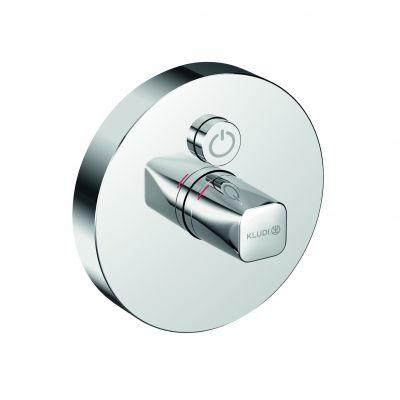 Kludi Push bateria prysznicowa podtynkowa chrom 386020538