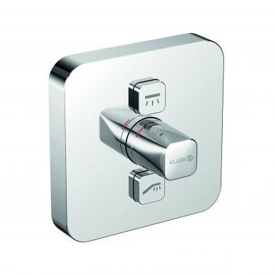 Kludi Push bateria wannowo-prysznicowa podtynkowa chrom 386110538