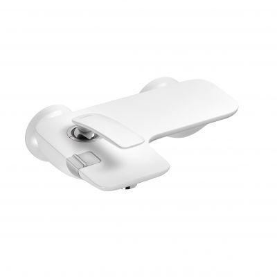 Kludi Balance bateria wannowo-prysznicowa ścienna biała/chrom 524459175
