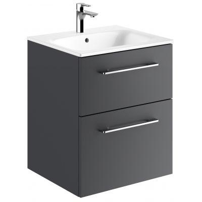 Koło Nova Pro Premium umywalka z szafką 55 cm lava mat 501.316.00.1