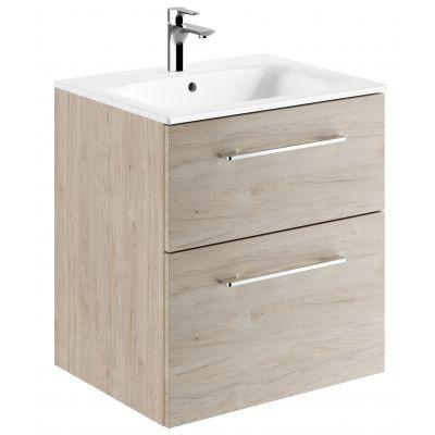 Koło Nova Pro Premium umywalka z szafką 60 cm orzech włoski jasny 501.322.00.1