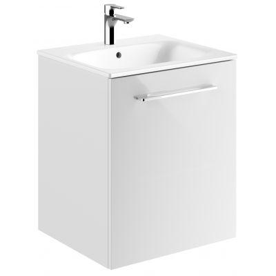 Koło Nova Pro Premium umywalka z szafką 55 cm biały połysk 501.331.00.1
