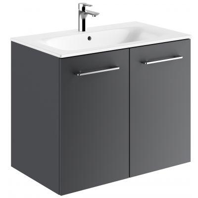 Koło Nova Pro Premium umywalka z szafką 80 cm lava mat 501.340.00.1