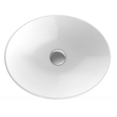 Koło Variform umywalka 50x40 cm wpuszczana owalna biała 500.710.01.6